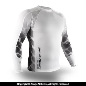 PunchTown Ice Mamba Rashguard - Long Sleeve